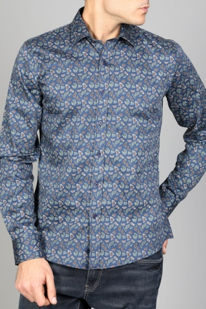 Рубашка муж. арт.15949 ENR SHIRT BATT NAVY BLUE